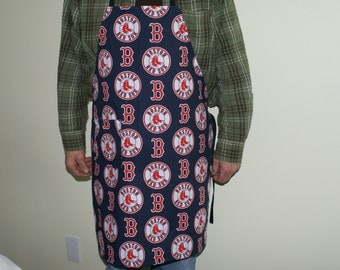 Boston Red Sox bar-b-que apron