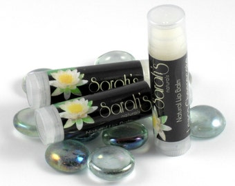 Tea Tree Oil Lip Balm - Vegan Lip Balm - Shea Butter Lip Balm - Lip Balm - Paraben Free Lip Balm - Handcrafted - Maine Made
