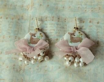 Sweet Lolita Fawn earrings