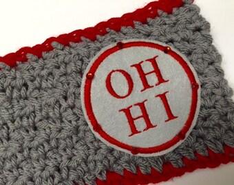 Women's // Crochet Headwrap // Headband // Earwarmer // OH - HI - O // Handmade //