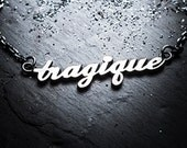 TRAGIQUE necklace