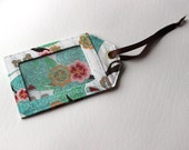 Ready to Ship One 3 by 5 luggage tag