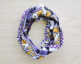 AZTEC PRINT Stretch headband, organic cotton hair band, workout band, yoga headband, wide headband, bamboo headband, wristband