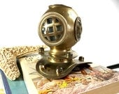 Vintage Brass Diving Helmet