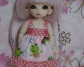 Frogs Dress for Pukipuki