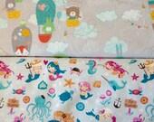 6 Custom Flannel Burp Cloths for Baby