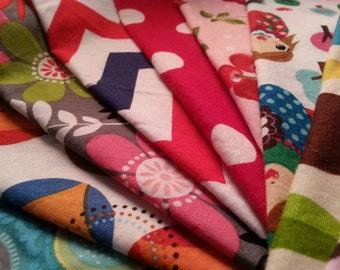 Everyday Cloth Napkins Set of 12  - Family Friendly Prints -