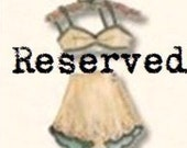 Reserved Custom Listing for Kristie