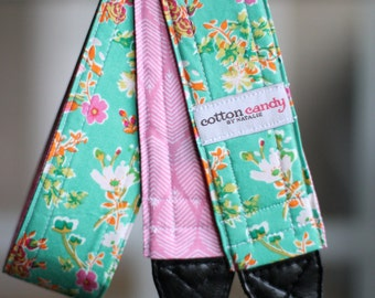 Cottagely Garden - Reversible Camera Strap