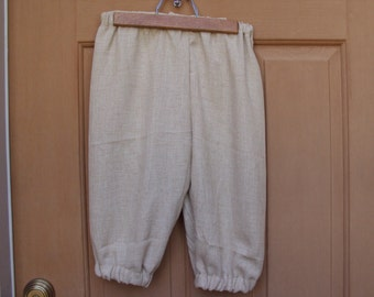 tan Knickers, Newsies, Victorian styles, Colonial, pirates,   size 10/12