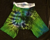 Tie Dye Boxer Briefs ADULT SMALL