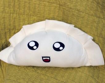 Shiny Eyes Dumpling Potsticker Plush