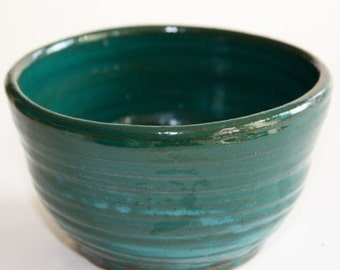 Jade Green Bowl for Prep, Serving, Multipurpose Holds One Cup  Gift for the Gourmet Multipurpose