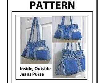 Inside Outside Jean Purse Pattern