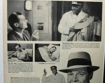 "Trav-R ... 124 ""Pullman ...""  Magazine Ad -  1953"
