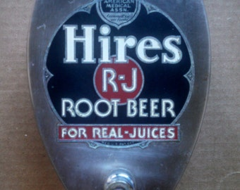 Vintage Hires Root Beer Syrup Dispenser - Soda Fountain Candy Shop