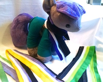 Doll Sized LGBTQIA+ Pride Scarves - 4 Styles Left!