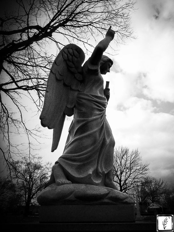 """Gabriel II,"" Crown Hill Cemetery, Indianapolis, Indiana, 2013."