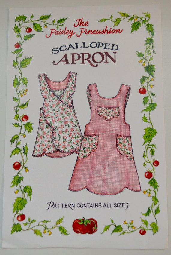 how to put on a cross back apron