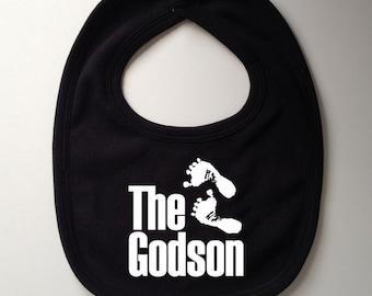 The Godson Bib - Baby Gift, Baby Shower Gift, Christening Gift