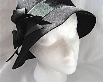 Vintage Black Frank Olive Hat