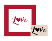 NEW for 2016 Love Rubber Stamp