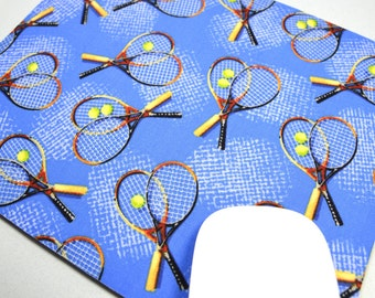 Buy 2 FREE SHIPPING Special!!   Mouse Pad, Computer Mouse Pad, Fabric Mousepad         Tennis