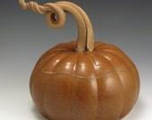 Pottery, Handmade, Pumpkin Casserole FREE SHIPPING