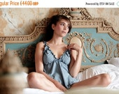 ON SALE Organic Cotton & Soy Lingerie set  - Babydoll and Panty- Organic Cotton and Soy set/ pyjama/ pajamas/ sexy lingerie/ honeymoon linge
