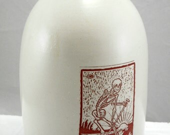 Tarot Card Jug moonshine whiskey Handmade