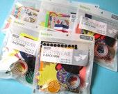 Scrapbooking Supply Grab Bag (1 set of collage / craft materials)