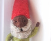 Needle Felted Gnome Wool Gnome - The Gnome Project