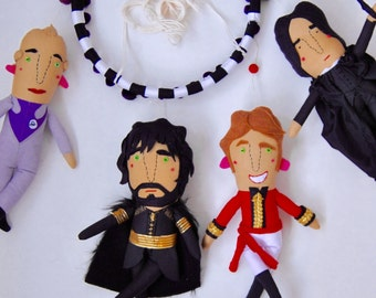 Alan Rickman Baby Mobile // The perfect mobile for an Alan Rickman super fan's offspring