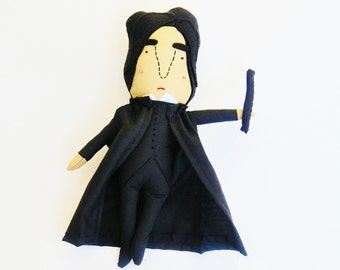 Alan Rickman Doll for Alan Rickman Super Fans //  Choose Your Own