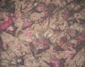 Colorful Rayon Batik Fabric