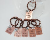 Western-Wine Glass Charms