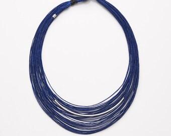 SEA Waxed Linen Necklace
