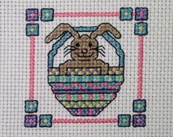 Easter Bunny Cross Stitch Pattern Download
