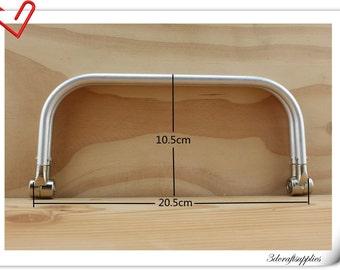 8 1/2 x  3 1/2  inch aluminous tubular internal hinge Bag frame  Purse frame wholesale Z20