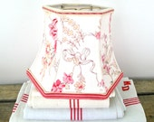 Lamp Shade French Floral Fabric Lampshade, 5x8x6 clip small lampshade - Sweet as Pie!