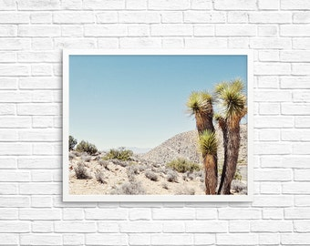 BUY 2 GET 1 FREE California Wall Art, Joshua Tree Photograph, Desert Photo, Brown Decor, Home Decor, Joshua Tree Print - Yucca Tree