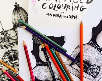 Colouring-in book by Andrea Joseph