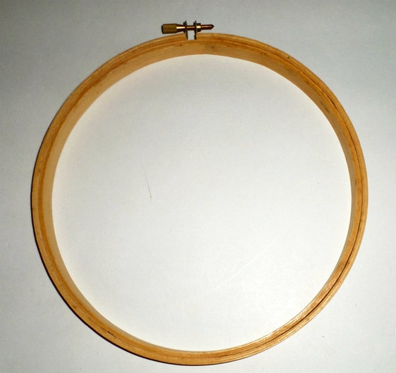 Inch wood hoop embroidery stitchery by