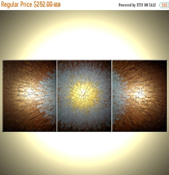 Abstract Painting, Textured Paintings, Silver Gold Bronze, Original Acrylic Painting, Art By Lafferty - 54x24,  Save 22% Off