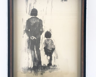 Aldo Luongo Charcoal Print - reserved for mmmpool