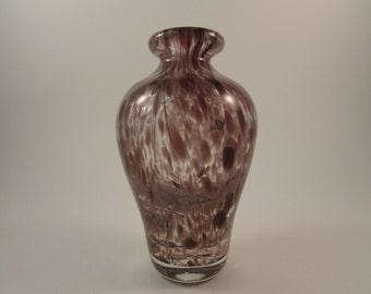 Art glass vase | Etsy