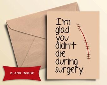Printable Get Well Card