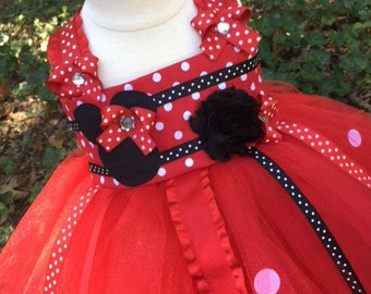 Red Minnie Mouse Tutu Dress - Minnie Mouse Costume