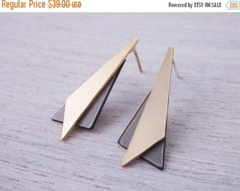 Sale 20% OFF FORMICA® Angles Post Earrings, geometric jewelry