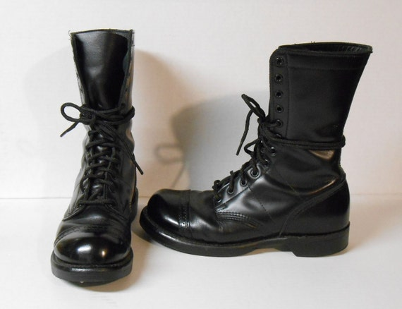corcoran jump boots boots black leather lace up boots